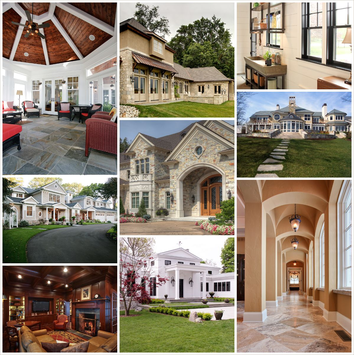 Photo tour of fine custom homes built by martin bros for Southwest michigan home builders