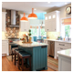 Colorful Kitchen Remodel