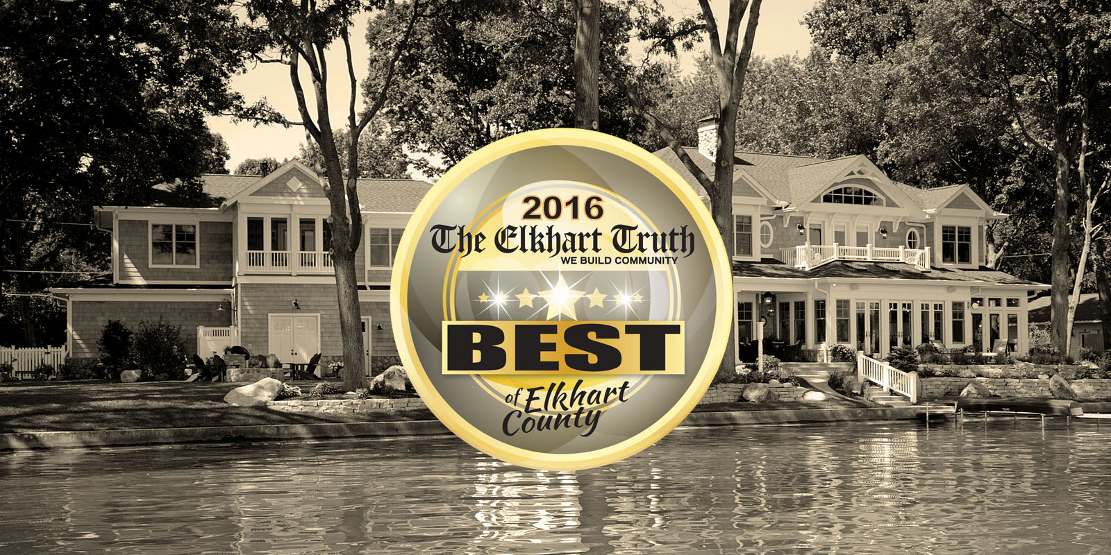 Best Home Builder of Elkhart County 2016